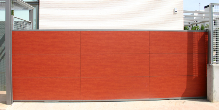 Puertas correderas garajes y fincas madrid cancelas - Como hacer puertas correderas ...
